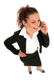 Businesswoman talking on the phone Royalty Free Stock Photo