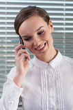 Businesswoman talking on the phone Stock Image