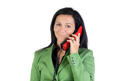 Businesswoman on the telephone Stock Photo