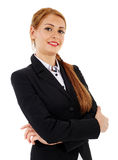 Businesswoman thinking Stock Photos
