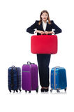 Businesswoman travelling Royalty Free Stock Photo