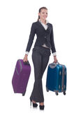 Businesswoman travelling Stock Photos