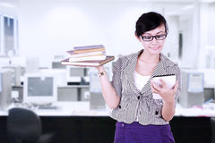 Businesswoman using digital tablet Royalty Free Stock Photo