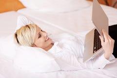 Businesswoman Using Laptop Stock Photos