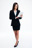 Businesswoman using tablet computer Royalty Free Stock Photography