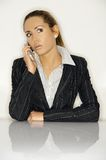 Businesswoman V Stock Photo