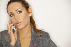 Businesswoman V Stock Images