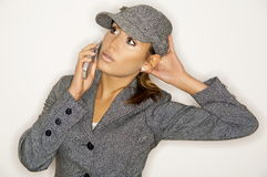 Businesswoman V Royalty Free Stock Photo