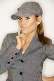 Businesswoman V Stock Image