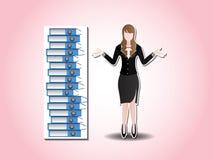 Businesswoman. Royalty Free Stock Photo