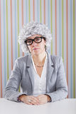 Businesswoman waiting Royalty Free Stock Photo