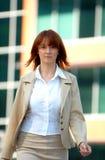 Businesswoman Walk 4  Royalty Free Stock Photos