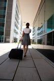 Businesswoman walking Stock Photos
