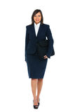 Businesswoman walking Royalty Free Stock Photos