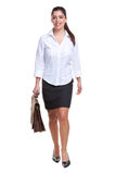 Businesswoman walking towards Royalty Free Stock Image