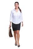 Businesswoman walking towards Royalty Free Stock Image