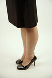 Businesswoman wearing high heels Royalty Free Stock Image
