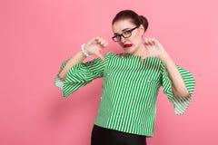 Free Businesswoman With Hair Bun Stock Image - 124711131
