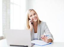 Free Businesswoman With Phone Royalty Free Stock Image - 31870766