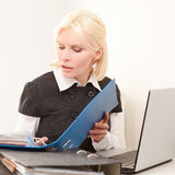 Businesswoman at work Royalty Free Stock Photo