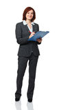 Businesswoman at work Royalty Free Stock Photography