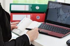 Businesswoman at work Stock Photos