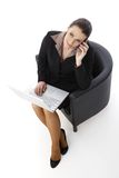 Businesswoman working Stock Photos