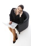 Businesswoman working Stock Photos