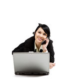businesswoman working Στοκ Φωτογραφία