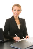 Businesswoman working Stock Images