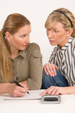 Businesswoman working together Stock Images