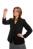 Businesswoman Writing royalty free stock images
