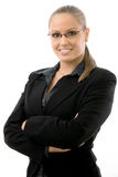 businesswoman young Στοκ εικόνες με δικαίωμα ελεύθερης χρήσης