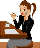 Businesswoman13 Imagem de Stock Royalty Free