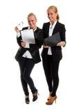 businesswomans δύο Στοκ φωτογραφίες με δικαίωμα ελεύθερης χρήσης