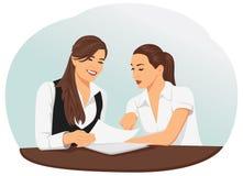 businesswomen vector illustratie
