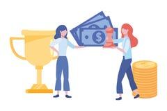 Businesswomen avatar cartoon design vector illustration. Businesswomen design, Woman business management corporate job occupation and worker theme Vector stock illustration