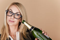 Businesswomen celebrating. Stock Photography