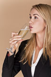 Businesswomen celebrating. Royalty Free Stock Photography