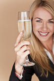 Businesswomen celebrating. Royalty Free Stock Photo