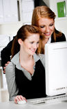 Businesswomen with Computer Stock Images