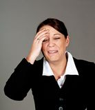 Businesswomen crying Royalty Free Stock Photo