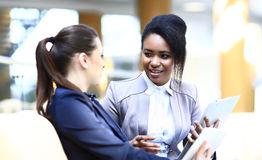 Businesswomen With Digital Tablet Royalty Free Stock Photo