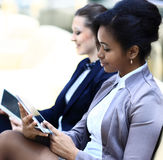 Businesswomen With Digital Tablet Royalty Free Stock Photography