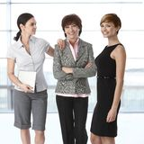 Businesswomen of diverse age Stock Photo