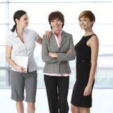 Businesswomen of diverse age. Team portrait of group of businesswomen of diverse age Stock Photo
