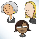 Businesswomen Faces Stock Images