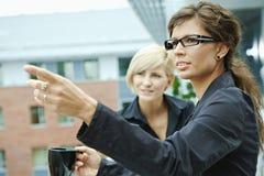 Businesswomen having break Royalty Free Stock Photos