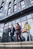 Businesswomen Leaving Work Royalty Free Stock Image
