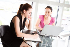 Businesswomen meeting Stock Photos